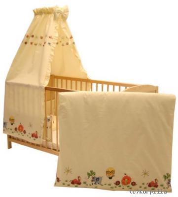 babybett inkl afrika himmel set baby bett kinderbett. Black Bedroom Furniture Sets. Home Design Ideas