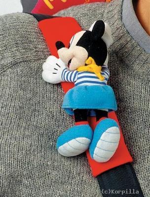 disney kinder gurtpolster minnie mouse gurtschoner megastore. Black Bedroom Furniture Sets. Home Design Ideas