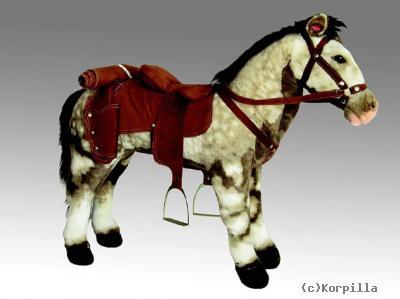 Pferd Plüsch Reiten Xxl Cowboy Sound Plüsch Pferd