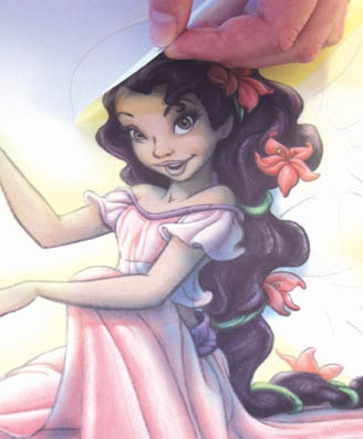 Funtosee Disney Fairies Feen Wandsticker Wandtattoo Fee Megastore