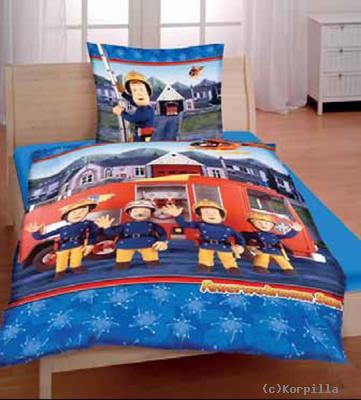 Bettwäsche Feuerwehrmann Sam Kinderbettwäsche Bettwaren Megastore
