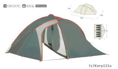 camping zelt 6 personen kuppelzelt familienzelt outdoor. Black Bedroom Furniture Sets. Home Design Ideas