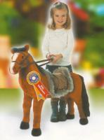 KINDER Plüsch Pferd braun PLÜSCHPFERD PFERD Pony 100kg