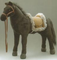 RIESIGES PLÜSCHPFERD Reitpferd  Pony Plüsch PFERD
