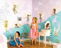 FUNTOSEE DISNEY FAIRIES FEEN WANDSTICKER WANDTATTOO FEE