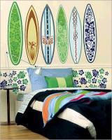 WALLIES Surfboard XXL WANDBILD BORDÜRE WALLIE WALLIS