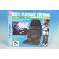 MASSAGESITZAUFLAGE MASSAGEMATTE 24V / 220V KFZ MASSAGE