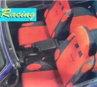 AUTOSITZAUFLAGE RACING ROT  SCHONBEZUG SITZBEZÜGE