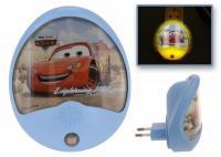 DISNEY LED NACHTLICHT SCHLUMMERLICHT CARS SCHLAF LAMPE