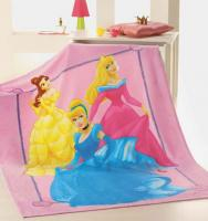 DISNEY FLEECE DECKE PRINCESS KUSCHELDECKE WOLLDECKE