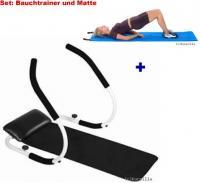 Set: BAUCHMUSKELTRAINER Gym MATTE + Gymnastikmatte *NEU