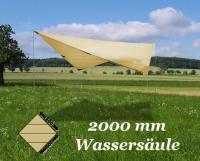 SONNENDACH SONNENSCHUTZ SONNENSEGEL 4x6 2000mm WS