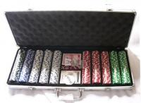 500 Poker Chips Pokerchips Jetons Spielchips Pocker Set