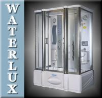 WATERLUX® DUSCHKABINE DUSCHTEMPEL WD606 BAD DUSCHE