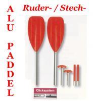 Alu STECH / RUDER Paddel  STECHPADDEL Kajak Boot