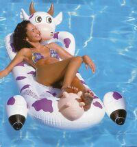 Kuh LUFTMATRATZE Relax Pool Liege LUFTMATRAZE 180 cm