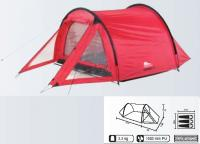 Camping ZELT NEGRO 3 MANN Personen TUNNELZELT TUNNEL