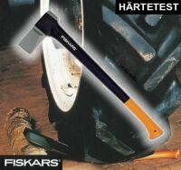 ORIGINAL FISKARS SPALTAXT 2400 HOLZ BEIL AXT TESTSIEGER