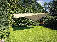 sandfarbender Sonnenschutz $NEU$ Sonnensegel 3 x 4 m