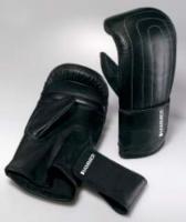 Studio Boxhandschuh HAMMER, Leder schwarz, 10 OZ, Paar