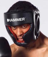 Kopfschutz Sparring PU, schwarz L-XL