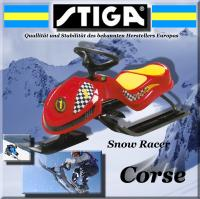 STIGA SNOW RACER CORSE SKI BOB LENKSCHLITTEN SKIBOB