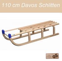 HOLZSCHLITTEN DAVOS 110CM  HOLZ SCHLITTEN