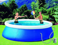 QUICK UP POOL SET SWIMMING POOL SCHWIMMBECKEN PUMPE