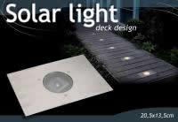 6x LED EDELSTAHL SOLARLAMPE BODENSTRAHLER BODENLEUCHTE