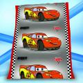 DECKE WOLLDECKE DISNEY CARS 130x160 FLEECEDECKE
