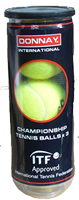 3 DONNAY TENNISBÄLLE TENNIS BÄLLE BALL TENNISBALL NEU